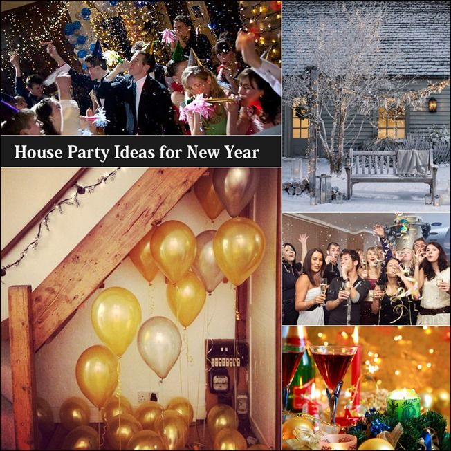House Party Ideas For New Year S House Party Party Newyear