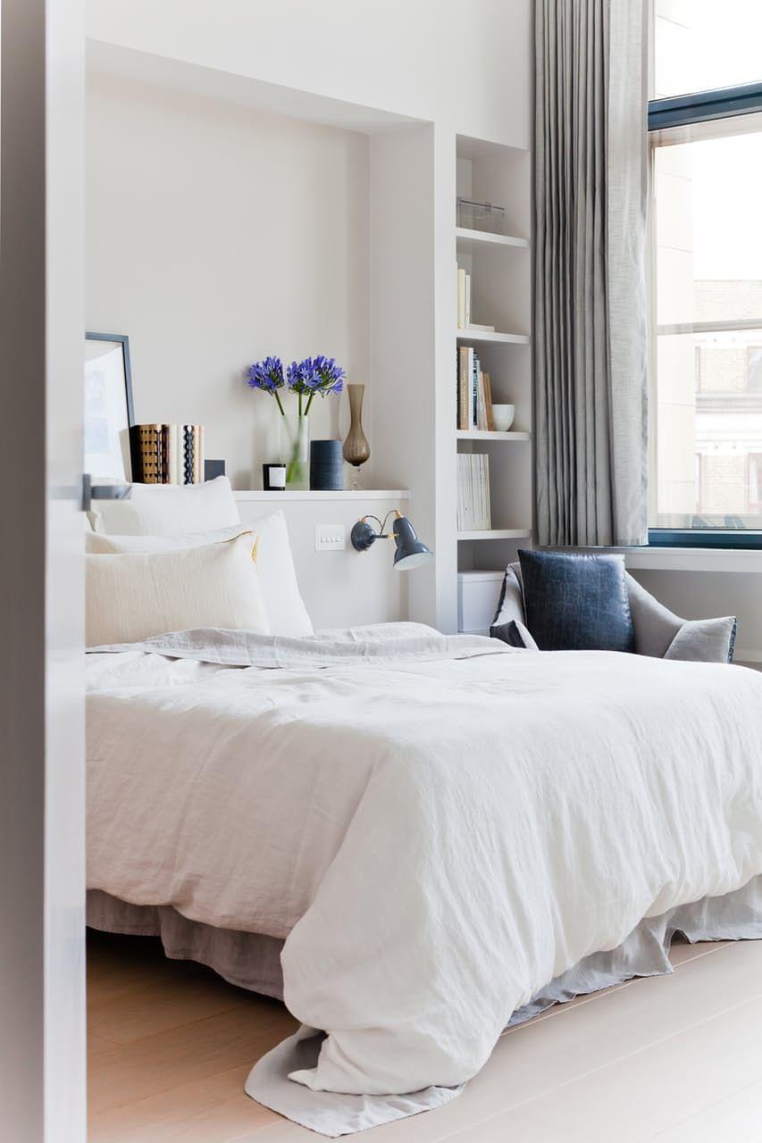 Light Bedroom In A London Penthouse Home Is You Pinterest  ~ Decorar Comoda Dormitorio Matrimonio
