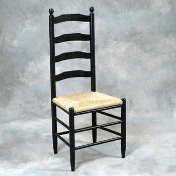 Perfect Martha Washington Ladder Back Chair
