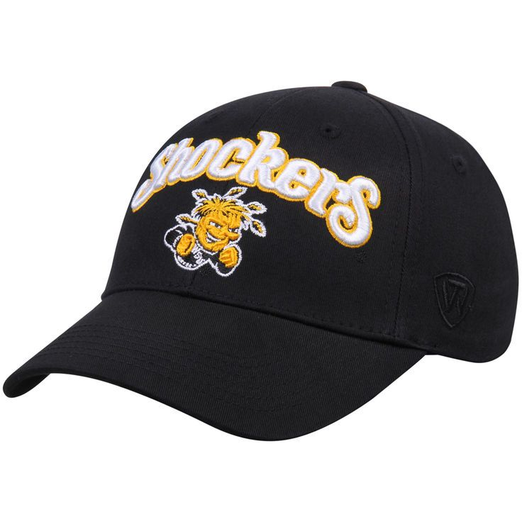 Wichita State Shockers Top of the World Basic Structured Adjustable Hat - Black - $10.99