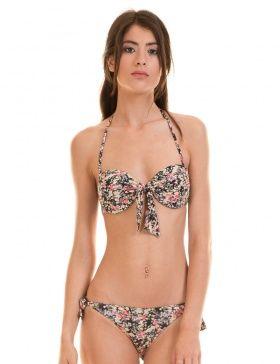 960444ab01ea Bikini flores lazo de Only | vestidos baño | Tendencias ropa, Ropa ...