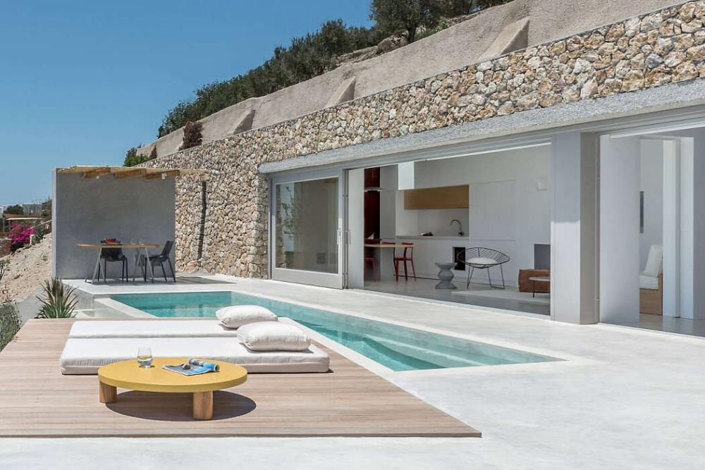 Holiday House By Kapsimalis Architects Homeadore Santorini House Holiday Home Santorini Villas