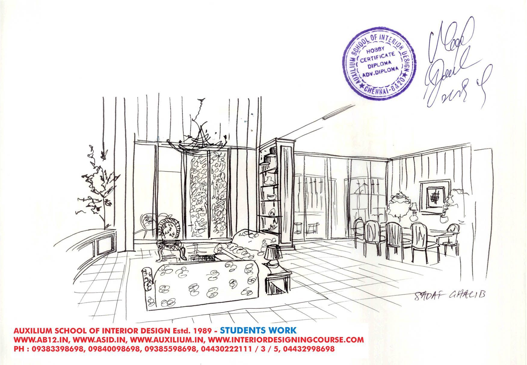 Interior Design Bachelor Degree Gandum Interior Design Courses Interior Design Design