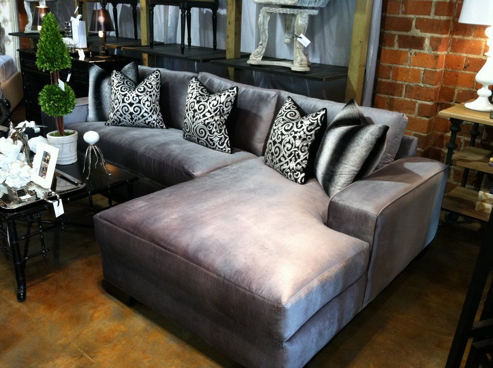 How to Clean Velour Upholstery Custom sectional sofa