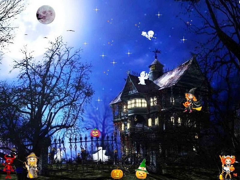 Free Halloween Screensavers Halloween Screen Savers Halloween Photos Halloween Images