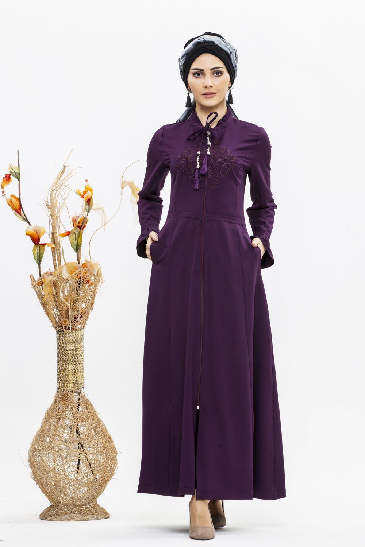 6023984bbcabc ... Abiye/ Elbise Tesettür panosunda bulabilirsiniz. Puskullu Nakış Detay  Ferace ELF3695 Özellikleri Kumaş Özelliği : Dabıl kumaştan imal edilmiştir.