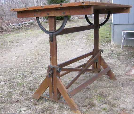 Antique Hamilton Drafting Table Antique Drafting Table Drafting