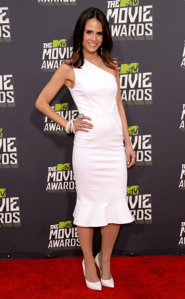 Jordana Brewster from Best Dressed at the 2013 MTV Movie