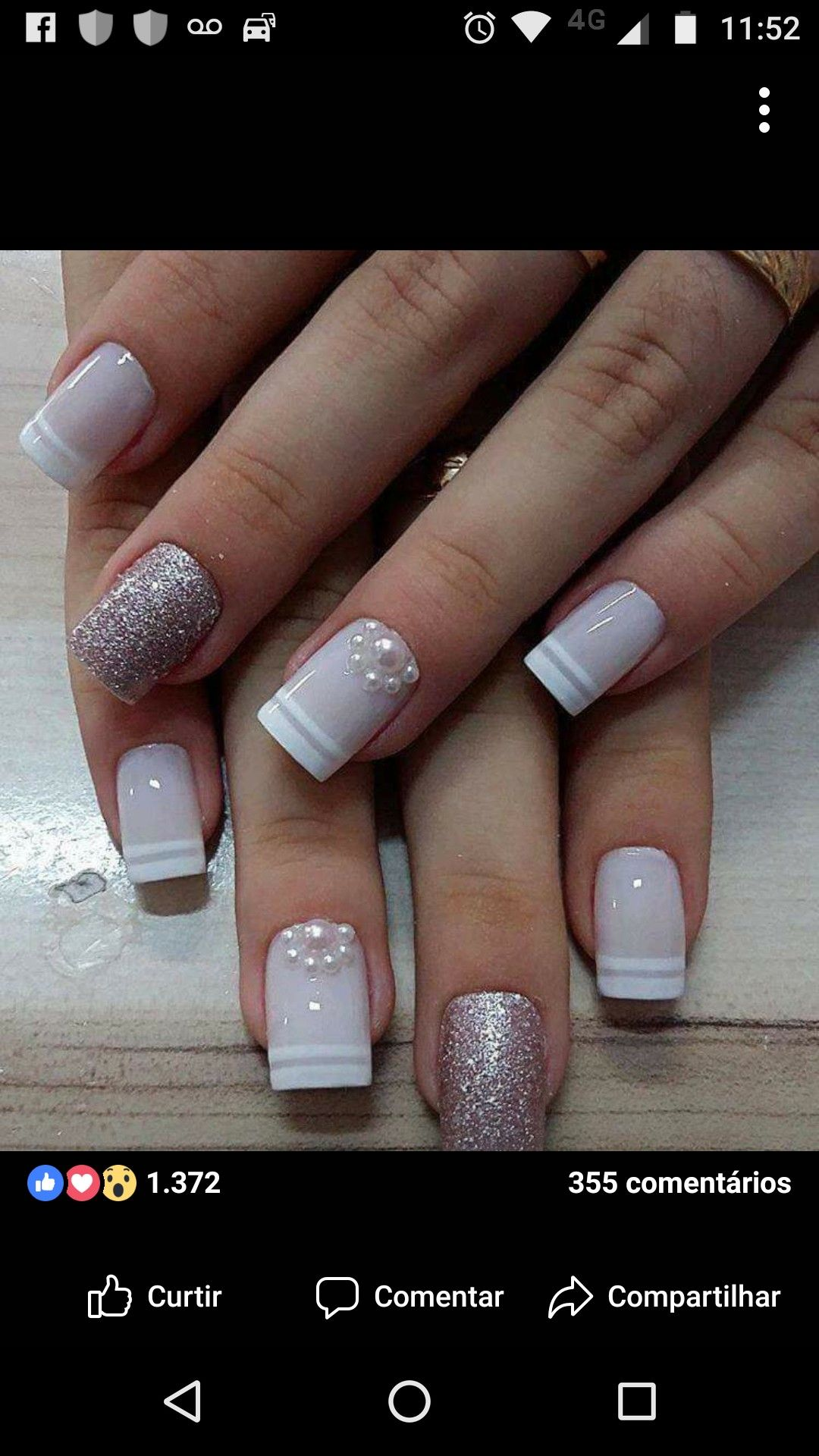 Pin by raquel aparecida on unhas pinterest manicure nail nail