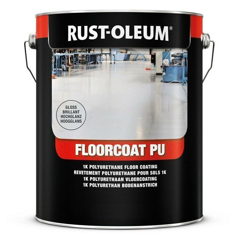 Rust Oleum Floorcoat Pu Red Gloss 5l