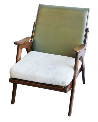 Vintage Centa Teak Danish Design Armchair Retro Lounge Chair | eBay
