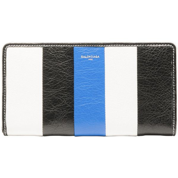multicoloured bazar continental zip around leather wallet Balenciaga kB9mHO