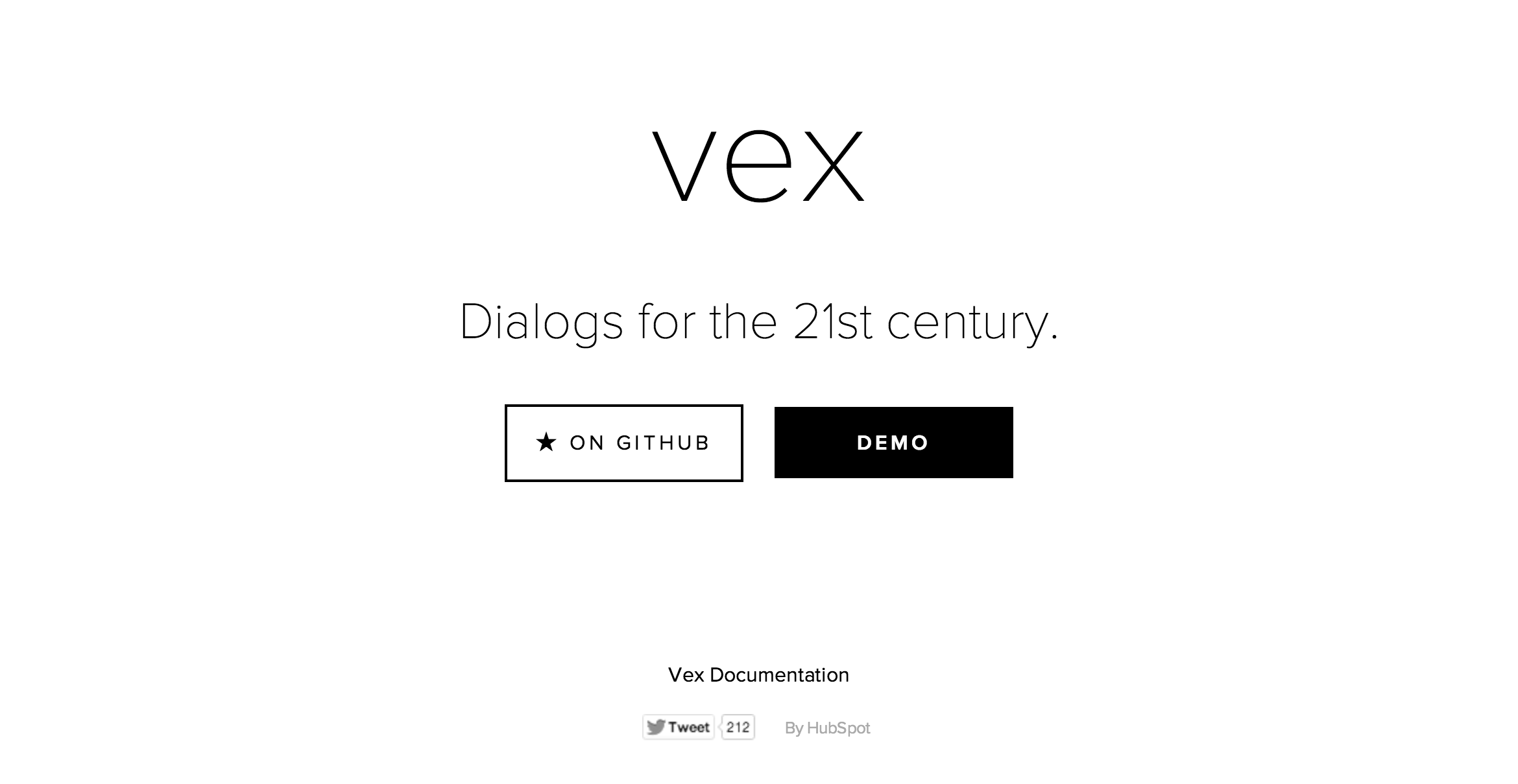A Nice Set Of Modal Dialog Templates, With Nice Transitions And Animations,  Vex: