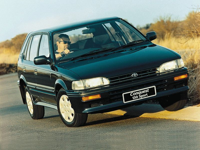 toyota conquest 130 sport  south africa  corolla