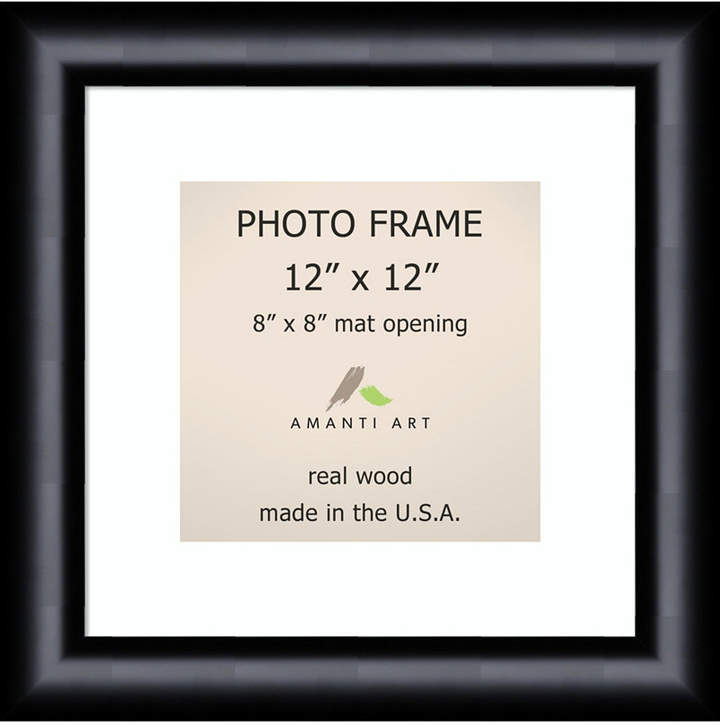Amanti Art Steinway Black 12 X 12 Matted To 8 X 8 Opening Wall Picture Photo Frame Black Photo Frames Picture Frame Sizes Black Picture Frames