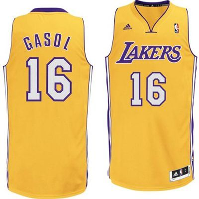 Pau Gasol Revolution 30 Swingman Jersey - Los Angeles Lakers Jerseys (Gold) 7fa5d476d