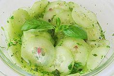 Dänischer Gurkensalat (Rezept mit Bild) von Grömitz1 | Chefkoch.de