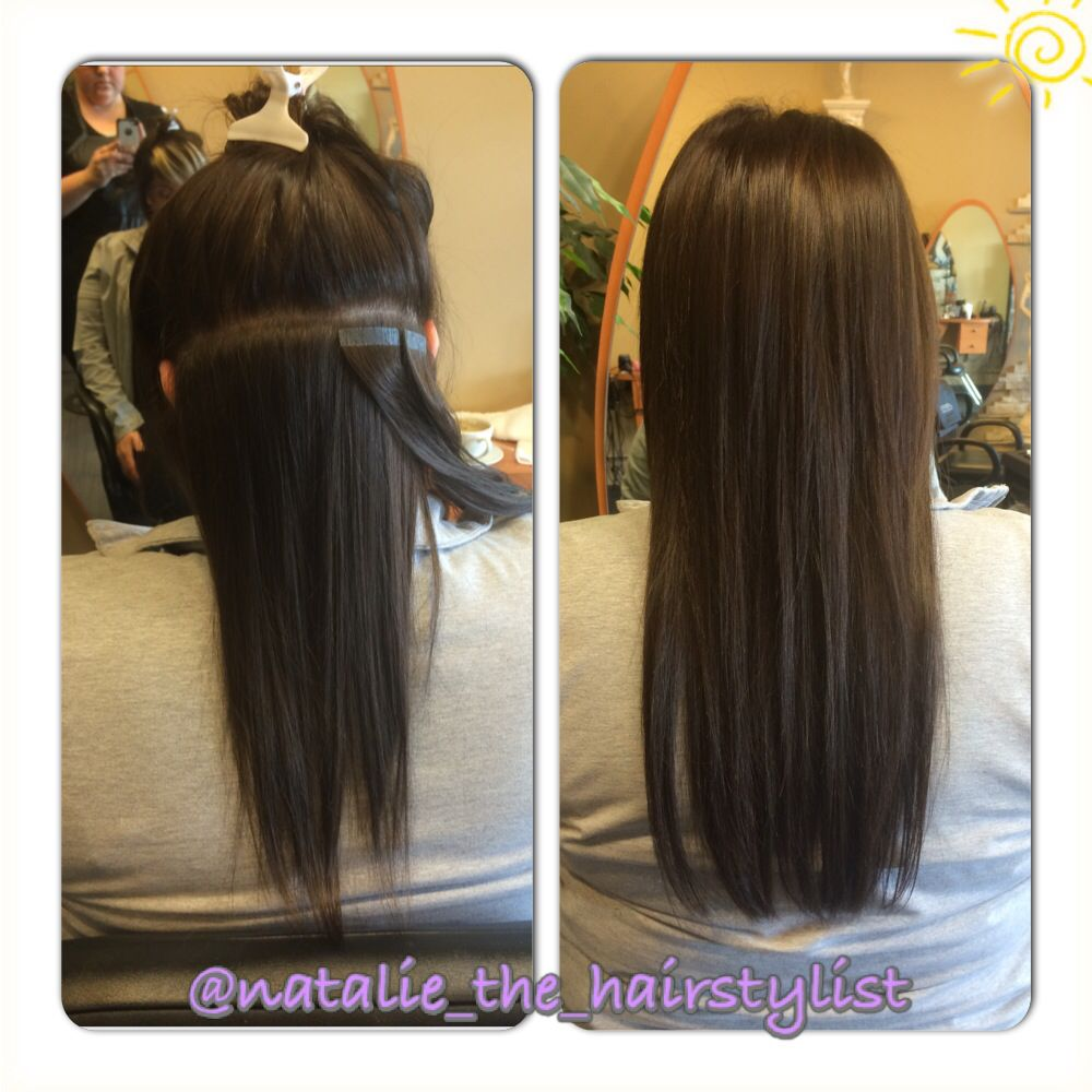 Tape Hair Extensions 10 12 Inch Nataliethehairstylist