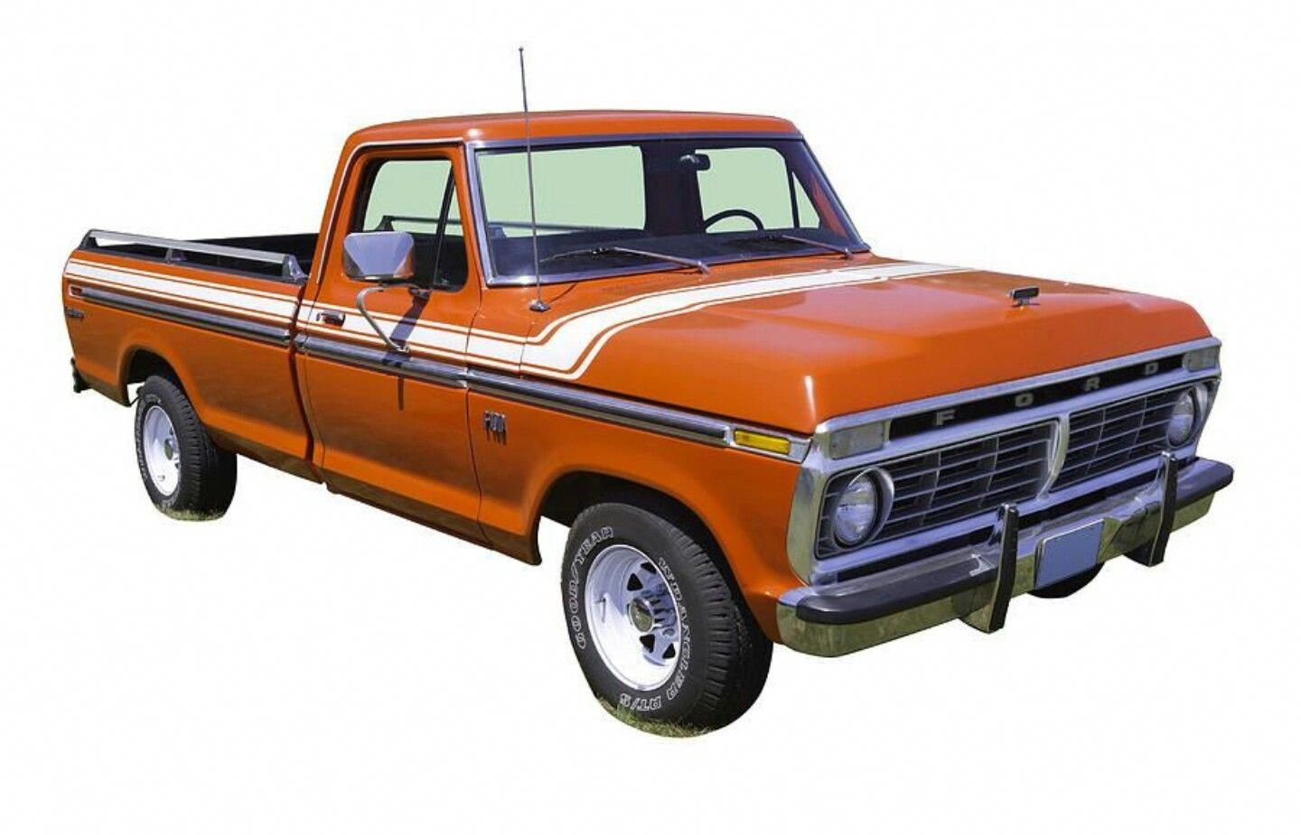 Amazing I Seriously Adore This Finish Color For This 1975 F150