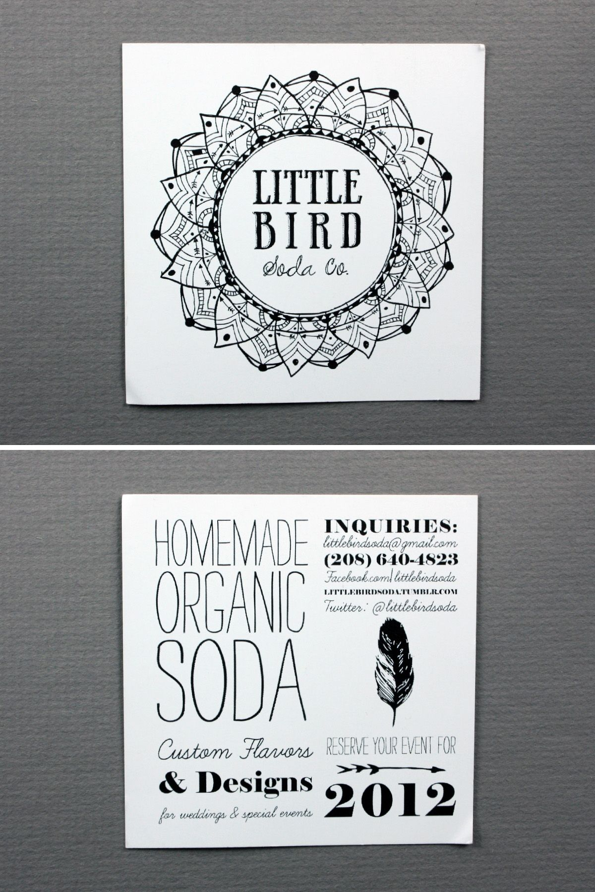 Little Bird Soda Co. littlebirdsoda.tumblr.com | Image is Everything ...