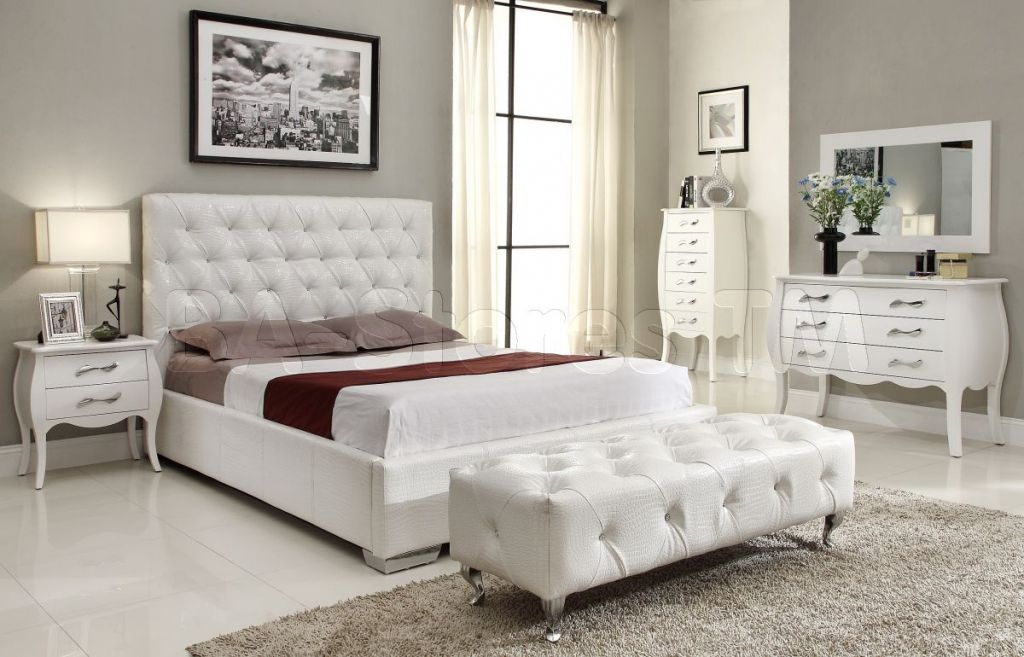 white mirrored bedroom furniture - simple interior design for ...