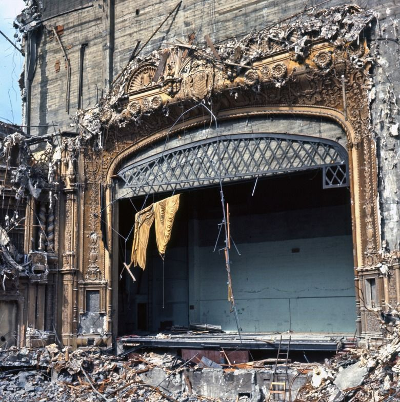 Seattle The Devastation Of History. The Orpheum Theatre In