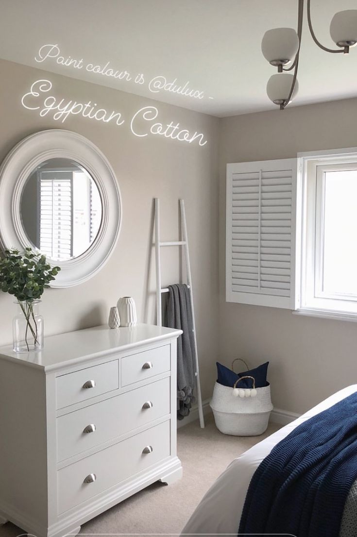Love This Paint Colour For A Bedroom Dulux Egyptian Cotton Dulux Bedroom Colours Bedroo Small Bedroom Colours Dulux Bedroom Colours Warm Bedroom Colors Bedroom paint ideas dulux