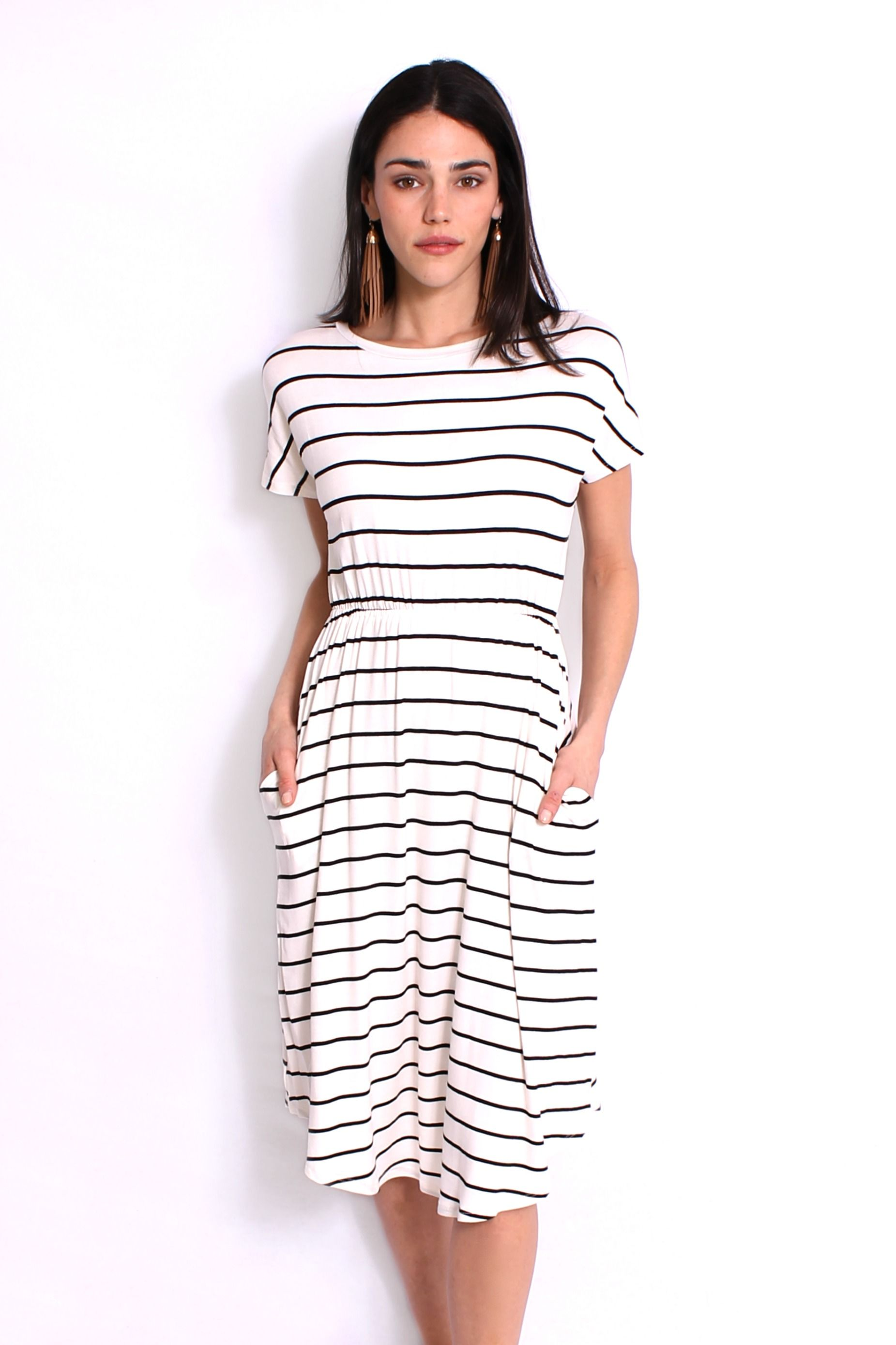 Seemingly Effortless Dress in Creme   http://www.rackandclutch.com/dresses/seemingly-effortless-dress-in-creme