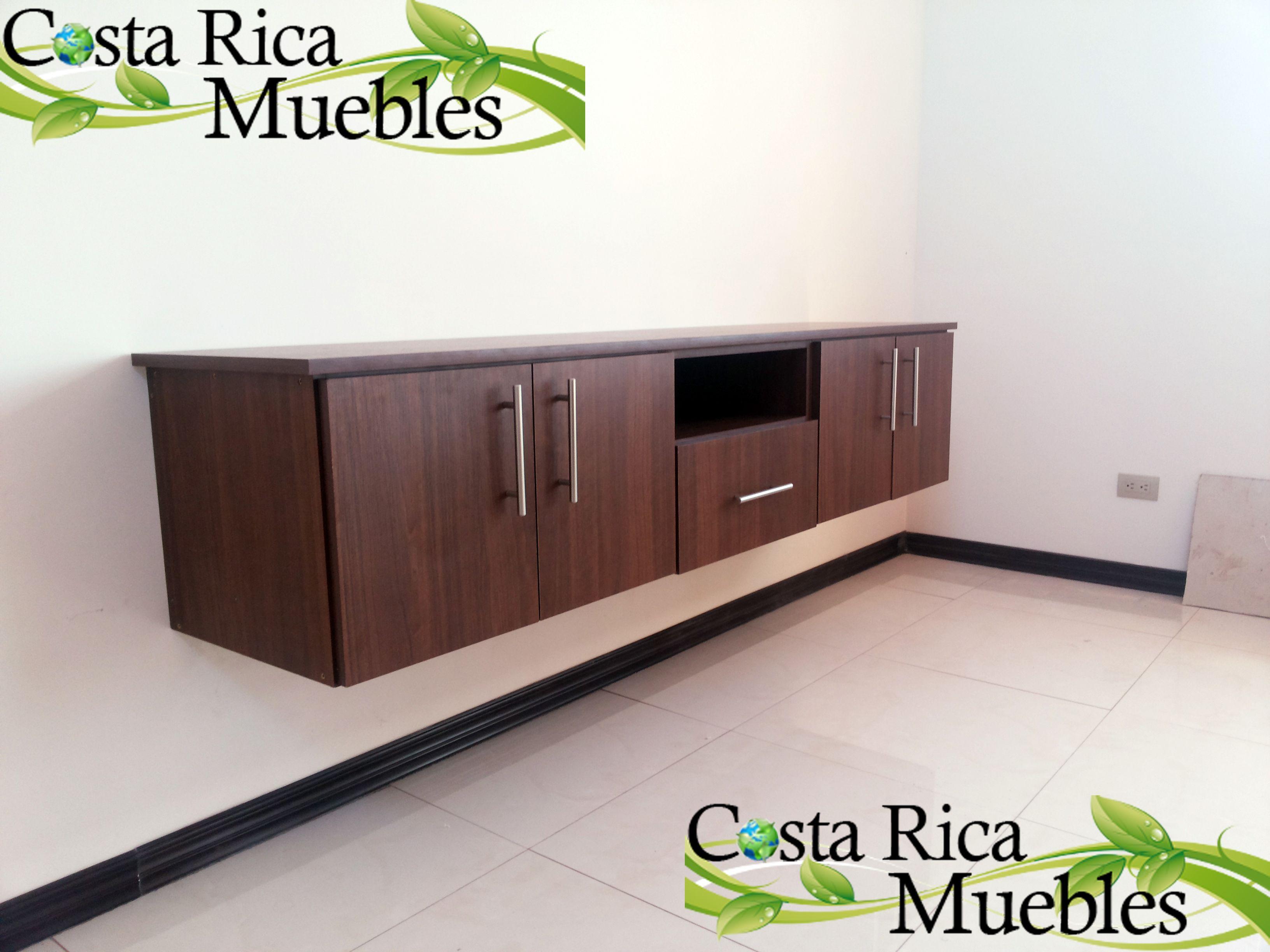 Mueble Suspendido Cuarto T V Instalaci N Seg N Dise O Acordado A  # Muebles Caoba Sevilla