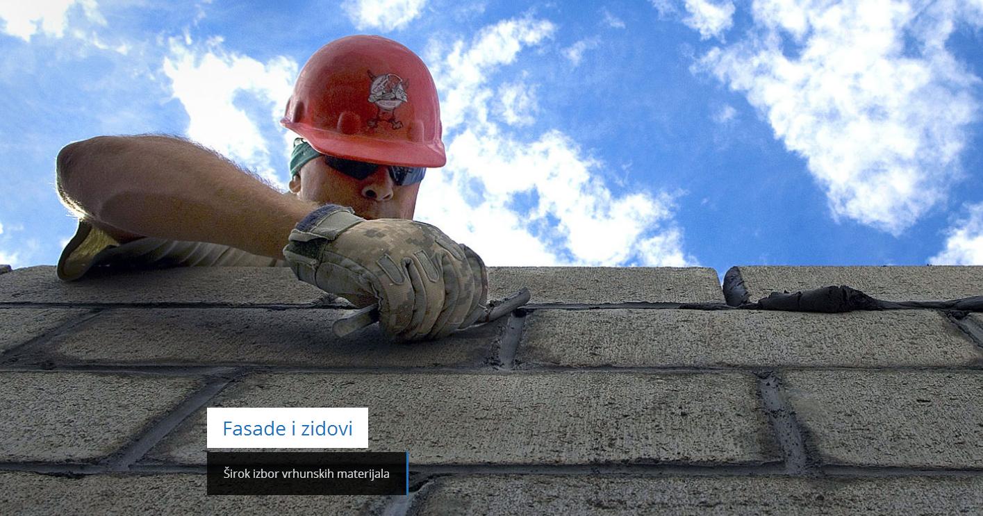 Sirok Izbor Vrhunskih Materijala Za Fasade I Zidove Http Www Bovex Rs Farbara Zid Fasada Brick Masonry Roof Repair Contractors