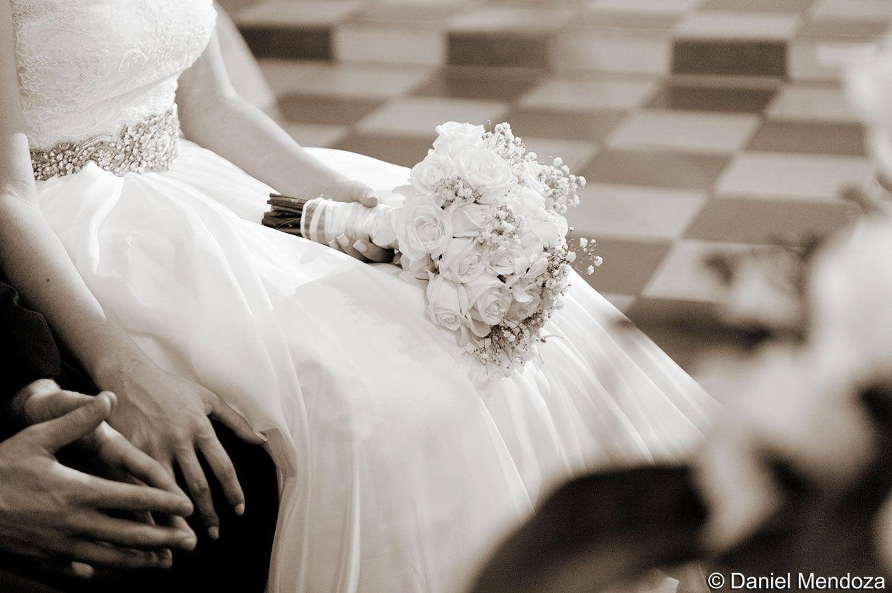 Hermoso bouquet de novia.