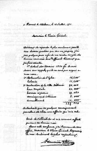 Lire l'histoire de Rennes le Chateau