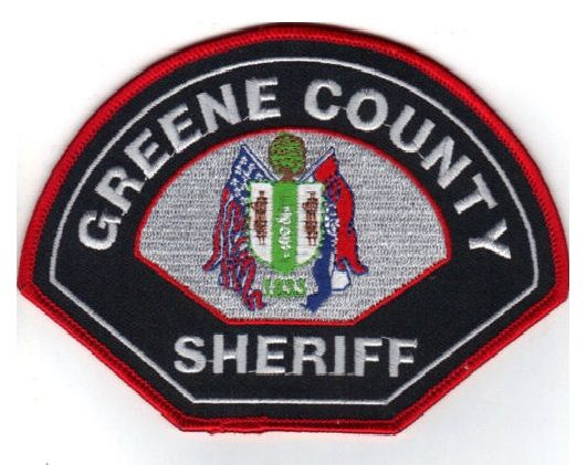 Greene county Sheriff MO   LE patches   Police patches