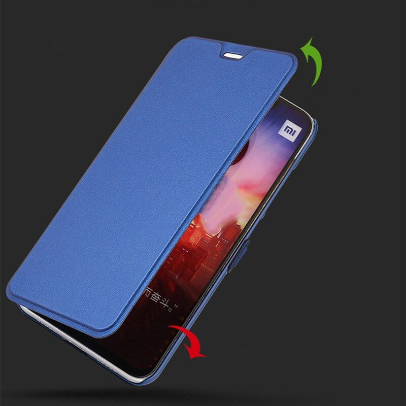 Hard Pu Leather Flip Case Xiaomi Redmi 6 Pro 6 Redmi 6a Funda Luxury Stand Case Cover Xiaomi Mi A2 Lite Full Protection Pu Leather Leather Cool Things To Buy