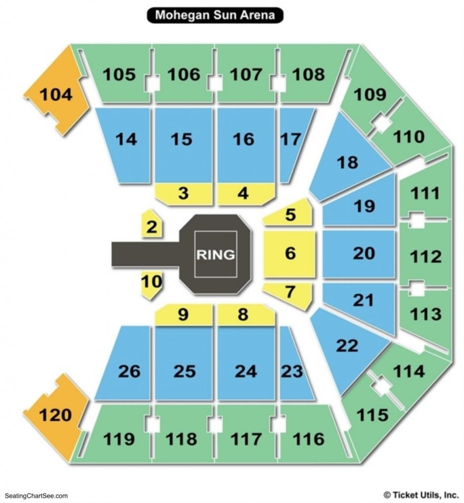 Awesome In Addition To Gorgeous Mohegan Sun Concert Seating Chart Konser