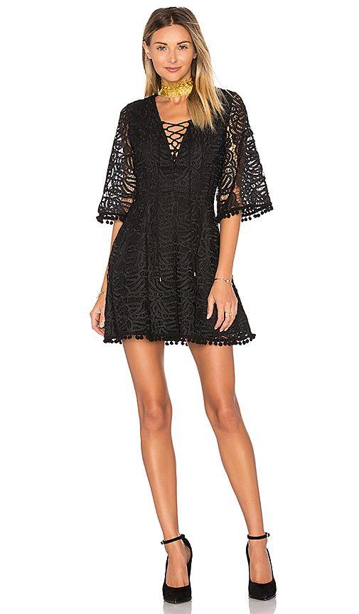 Coal Lace Dress