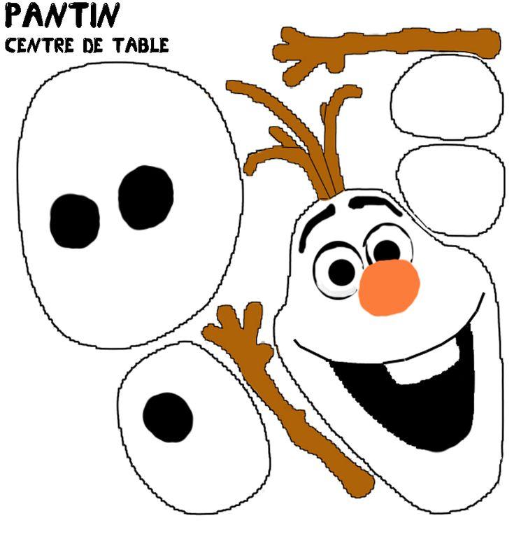 La reine des neiges mini theme et le carnet d 39 amitie 1 - Bonhomme de neige olaf ...