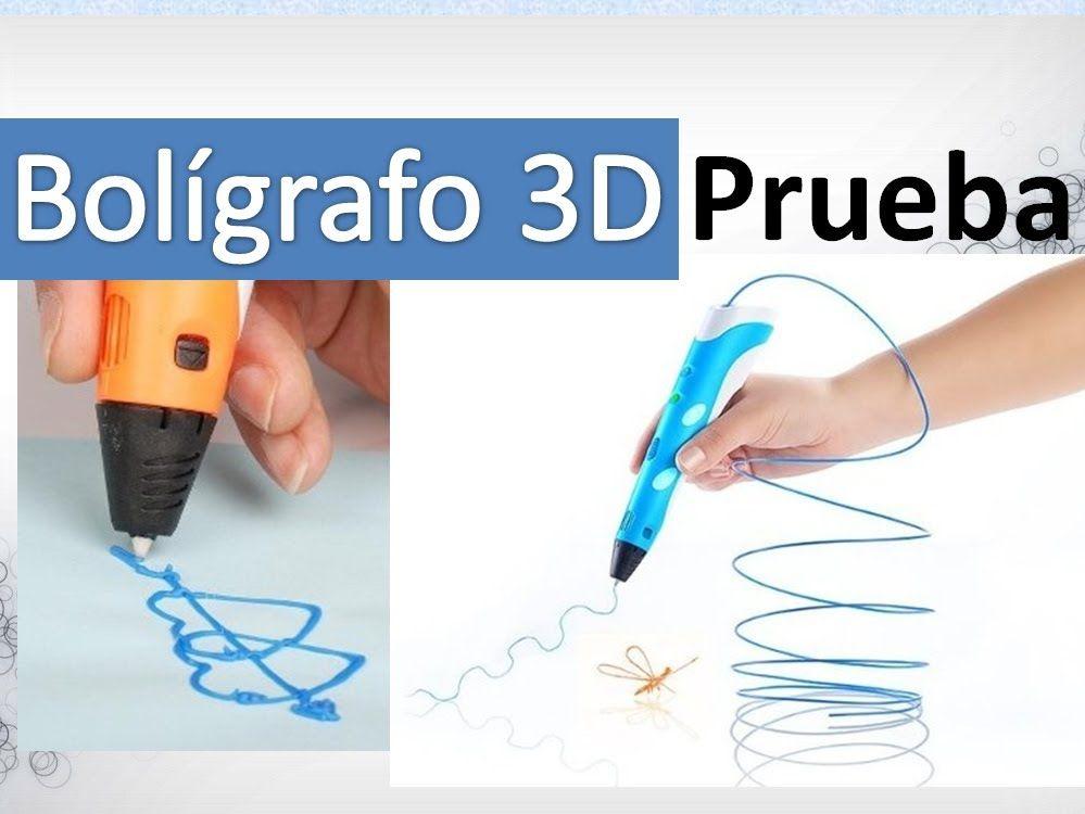Como Usar Un Boligrafo 3d Vea Como Dibuja En El Aire Boligrafo 3d Boligrafos Como Dibujar