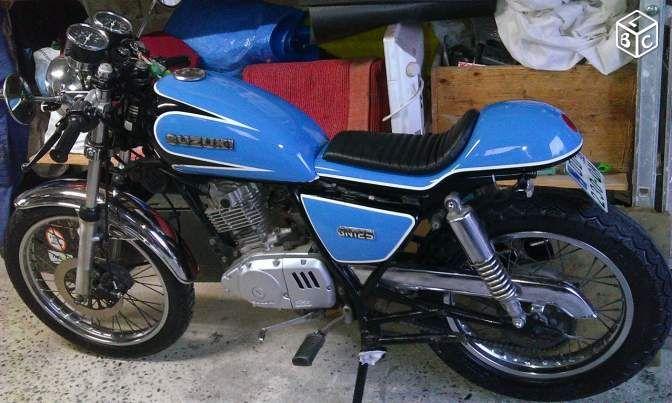 Suzuki 125 Gn Cafe Racer Motos Yvelines Leboncoinfr
