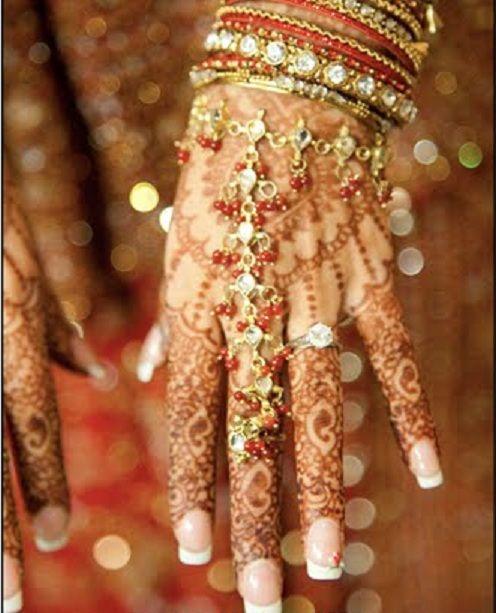 Indian Brides Hand Decoration See Weddingsonlinein For Wedding Inspiration