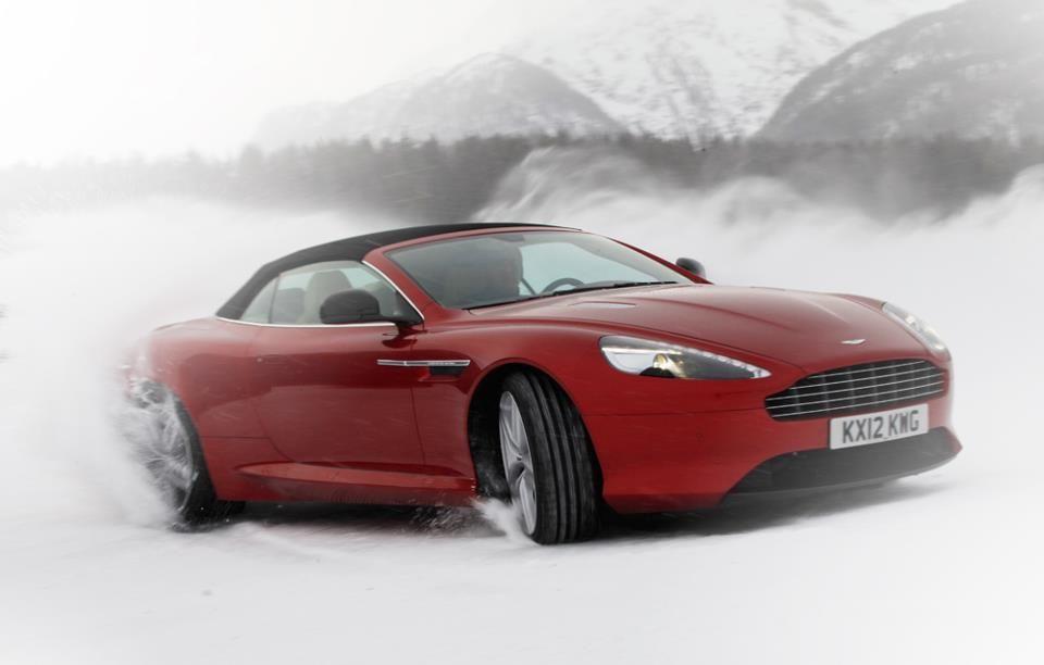 Aston Martin Ice Driving Cars Trucks SUVs And Dream Machines - Cheapest aston martin