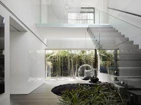 casas y modernas escaleras interiores