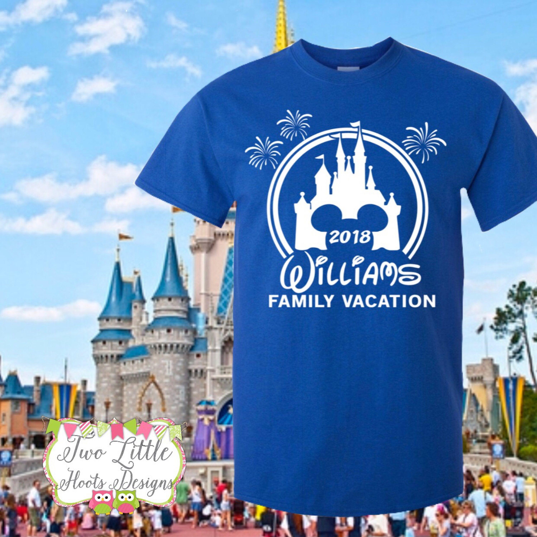 e431b9efe Disney Family Vacation Shirts ~ Personalized Disney Trip Shirts ~ Disney  Castle Shirts ~ Disney Trip ~ Disney Group ~ Mickey shirt ~ Minnie by ...