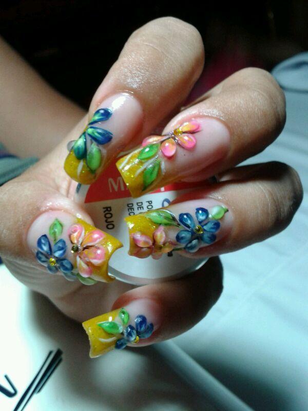 Diseño de Isabel Arrieta, Instructora #MASGLO #nails #inspiration