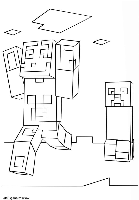 Coloriage Minecraft À Imprimer . 11 Extraordinaire