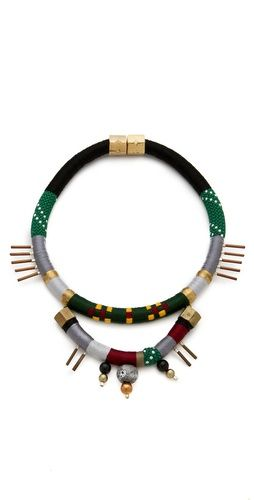 Love this original statement necklace, perfect fashion jewelry. ♦F&I♦