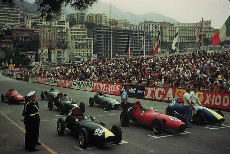 1960 GP de Monaco - Salida