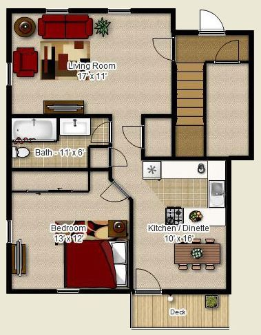 Floor Plan For Perkin S Corner Apartments In Bozrah Ct One Bedroom Units With Heat Included Floor Plans One Bedroom Apartment Building