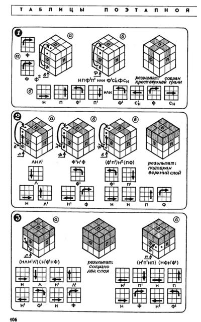 Собрать кубик рубика схема из журнала фото 575