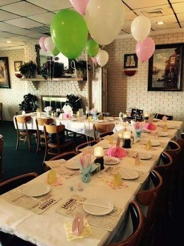 Second Baby Shower Hosted By Co Worker At My Favorite Italian Restaurant